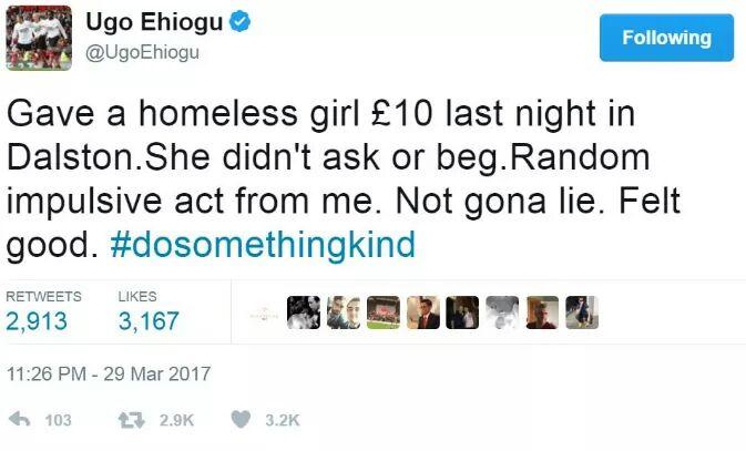 #ugoehiogu &#39;s last tweet... #RIPUgo<br>http://pic.twitter.com/SLxTTH0LaB