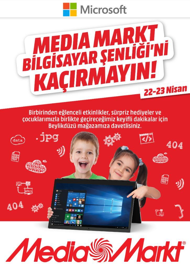 test Twitter Media - Teknolojik bir Çocuk Bayramı için sizi ve çocuklarınızı 22-23 Nisan tarihlerinde Beylikdüzü Media Markt'a, Bilgisayar Şenliği'ne bekliyoruz! https://t.co/vszkX1h9RC