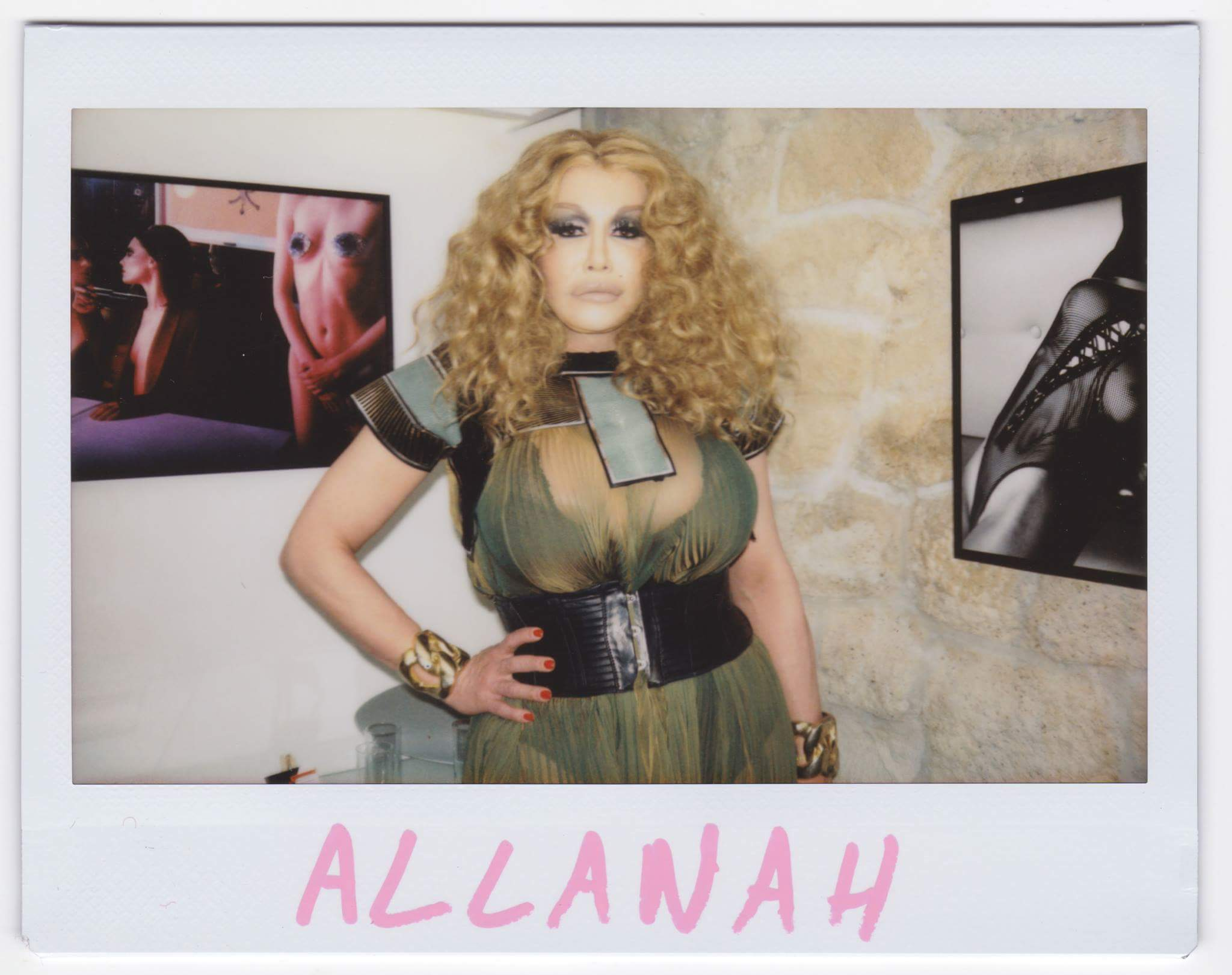 "Allanah Starr allanah starr on twitter: ""polaroid from last night at"