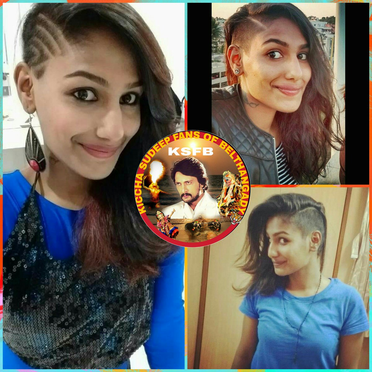 "KSFB on Twitter: ""Craz ka baap @KicchaSudeep #hebbuli and #The Villain Hairstyle by Girls @Kabirduhansingh… """