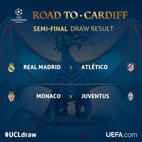 THE OFFICIAL RESULT OF THE #UCLdraw! <br>http://pic.twitter.com/EOnP2pTHDV