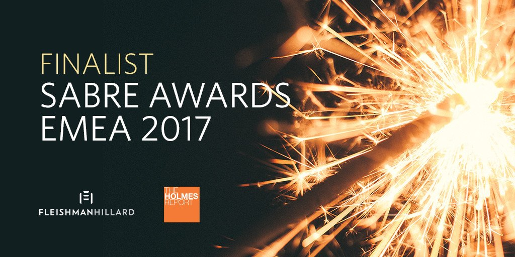 It's our lucky day: we're shortlisted for 8 #SABREAwardsEMEA: https://t.co/fuVz8tvYv4 https://t.co/JGKXKQsUm0