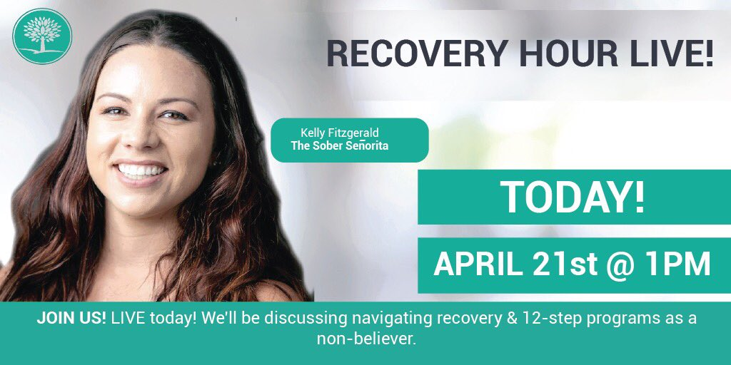 Join me today on Facebook live!   #sobriety #recovery #addiction