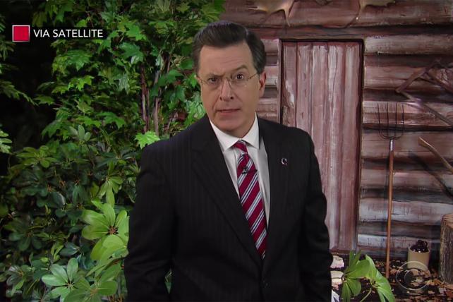 Watch Stephen Colbert's 'Stephen Colbert' say farewell to Bill O'Reilly https://t.co/8dY5Trg26D https://t.co/affDsu1egl