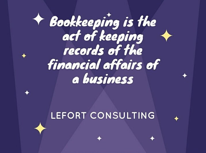 Bookkeeping is the act of keeping records of the financial affairs of a business #Bookkeeping #capital #Friday #information #tech #finance<br>http://pic.twitter.com/A1PiC9hsSS