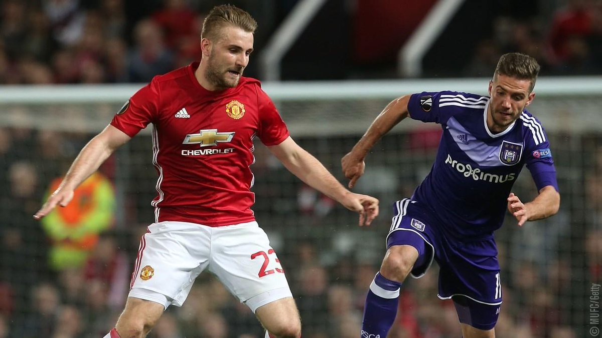 We're into the last four and @LukeShaw23 is confident of @EuropaLeague...