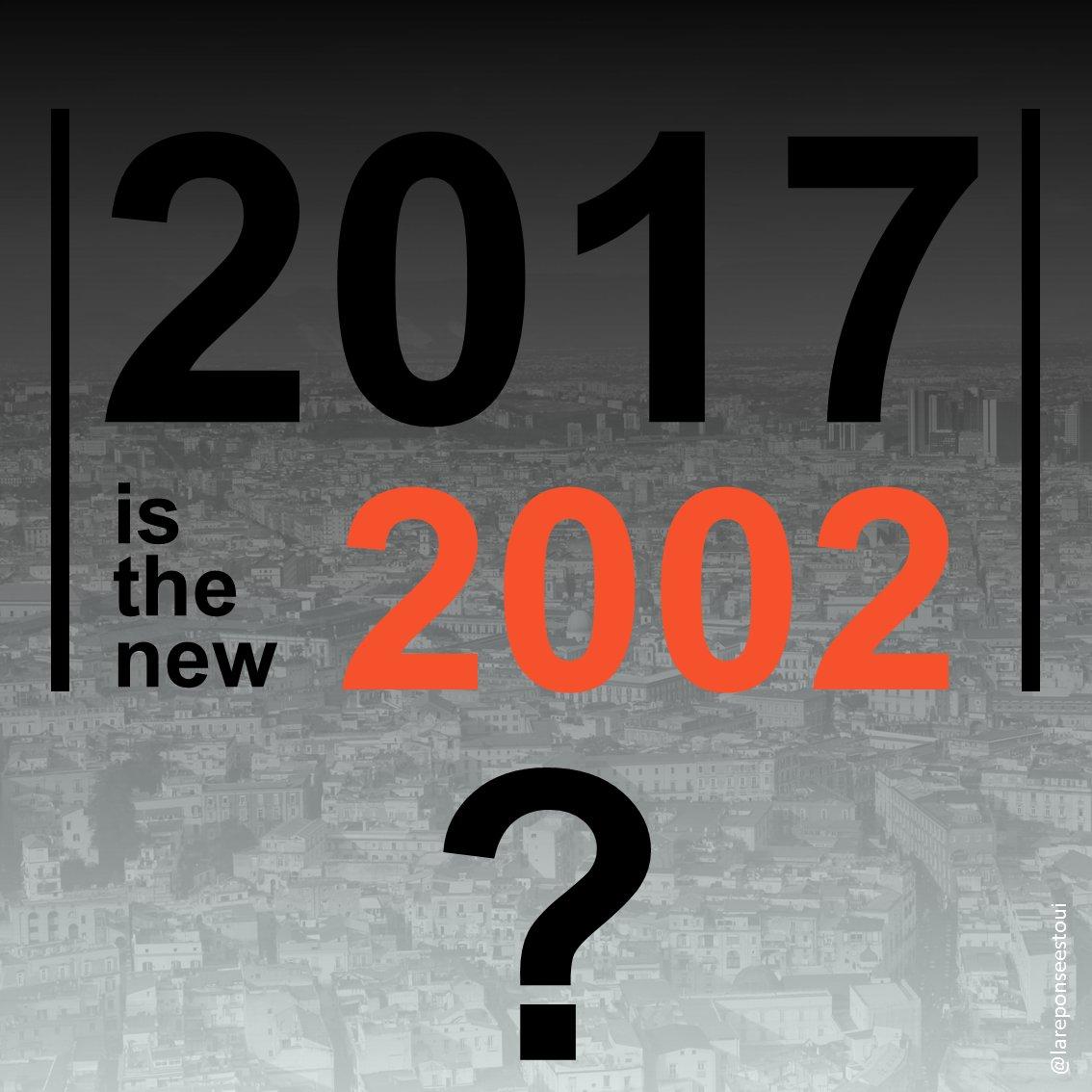 Élections présidentielles 2017 1er tour J-2  #21avril #2002  #23avril #2017 2017, le nouveau 2002 ? #Presidentielles2017pic.twitter.com/VByGg0yTka