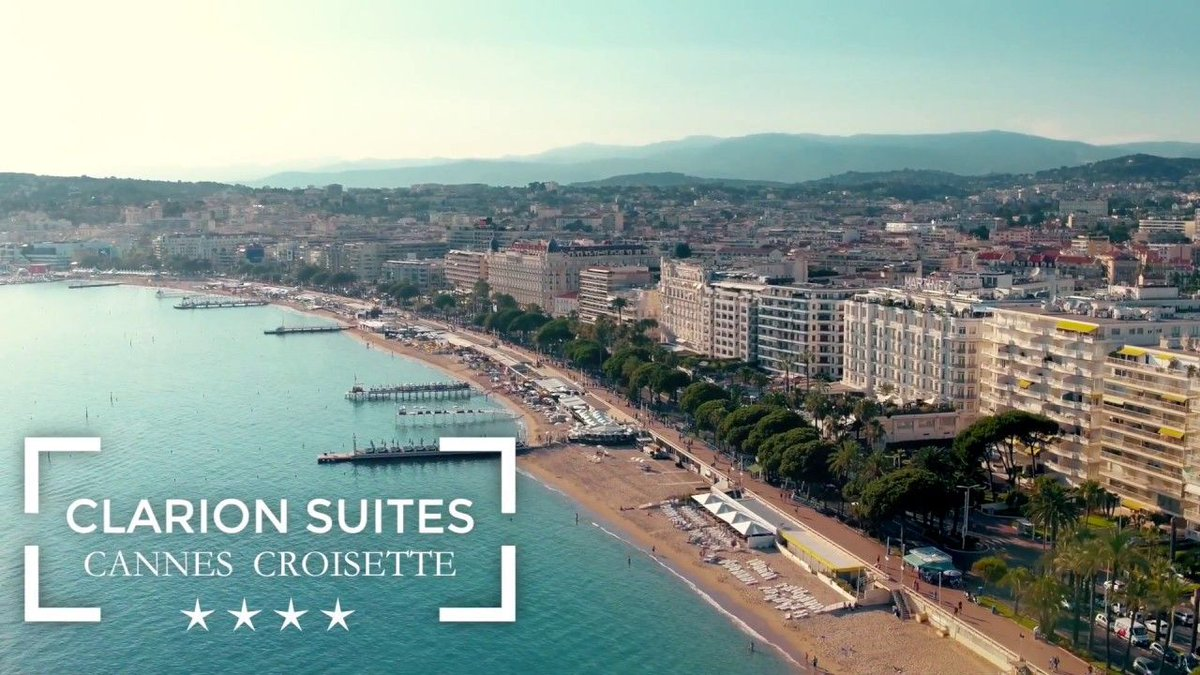 [VIDEO] Discover the @ClarionCannesCr for your next stay in #Cannes!  http:// bit.ly/2op4fZX  &nbsp;    #CotedAzurFrance <br>http://pic.twitter.com/TZiHvDNJuS