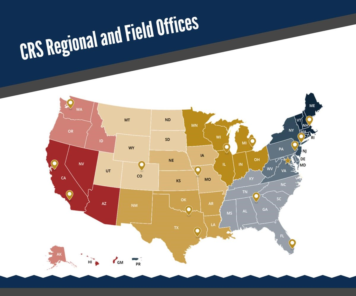 DOJ CRS On Twitter Looking For Community Conflict Resolution - Best crs for us map