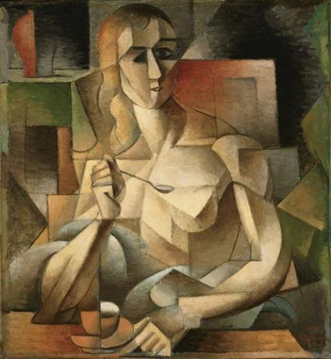 http://www. arteeblog.com/2015/07/18-pin turas-de-hora-do-cha.html  …  Le Goûter (Tea Time) - Jean Metzinger #art #arthistory #ArtLovers #DonneInArte #painting #nationalteaday #cubismpic.twitter.com/BuKrLhdORY