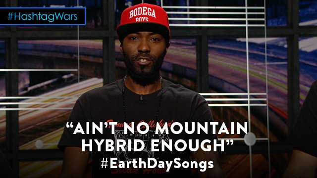 Aim high. #EarthDaySongs @midnight @desusnice https://t.co/IkZo117SUJ