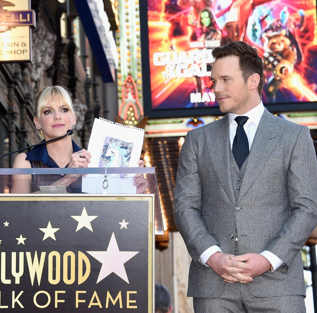 The one and only @prattprattpratt received his #WalkofFame star today! 🙌⭐️