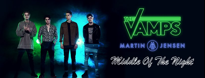 ONE WEEK 💚 @TheVampsband 💙 #MiddleOfTheNight https://t.co/2BwIqfafY3
