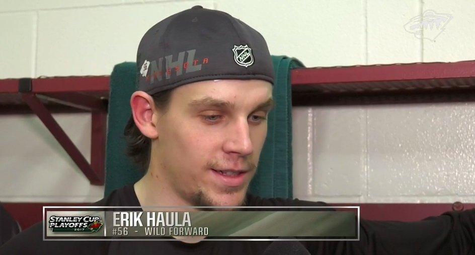 'It's do-or-die here the rest of the way and that's a great challenge for us.' —Erik Haula 🎥 → ow.ly/yqIo30b4fqM
