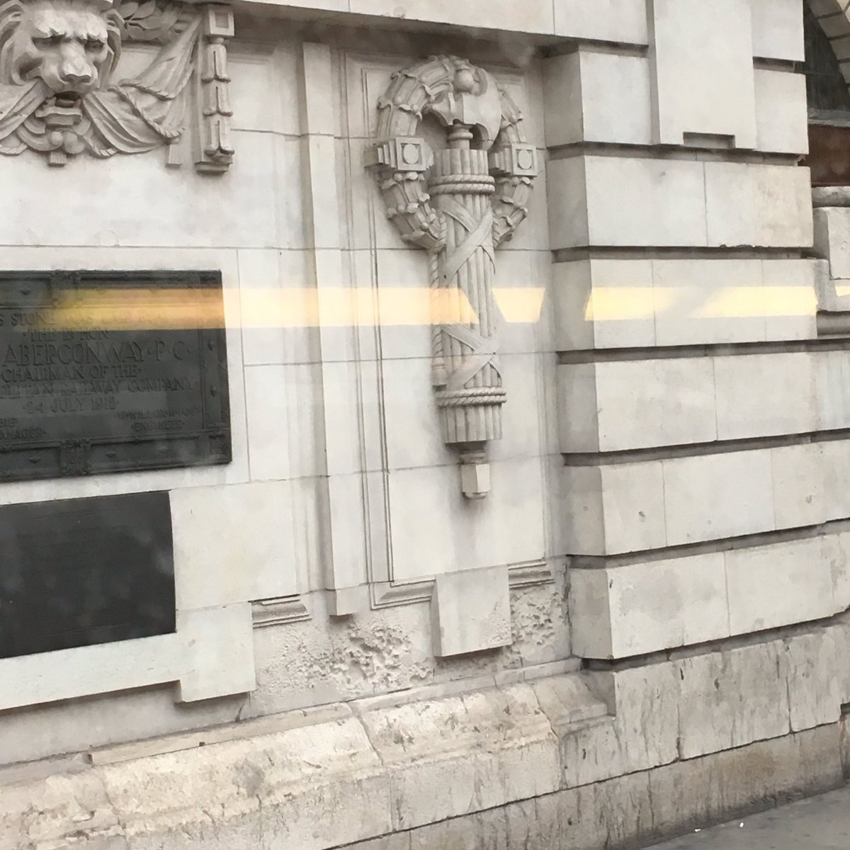 Patrick hussey on twitter erm is this a facist symbol on baker patrick hussey on twitter erm is this a facist symbol on baker street a fasces only caught fleeting glance biocorpaavc Choice Image