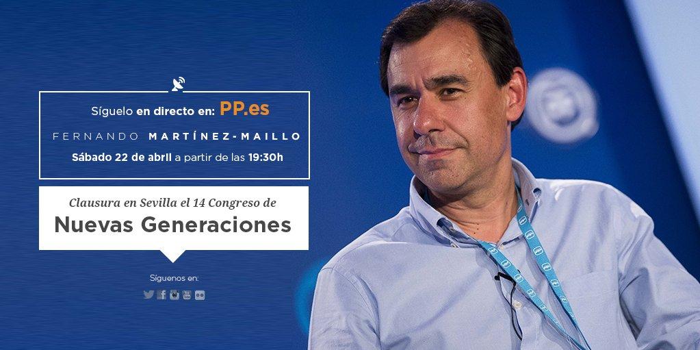 Fernando Martínez-Maillo clausura el 14 Congreso Nacional de NNGG