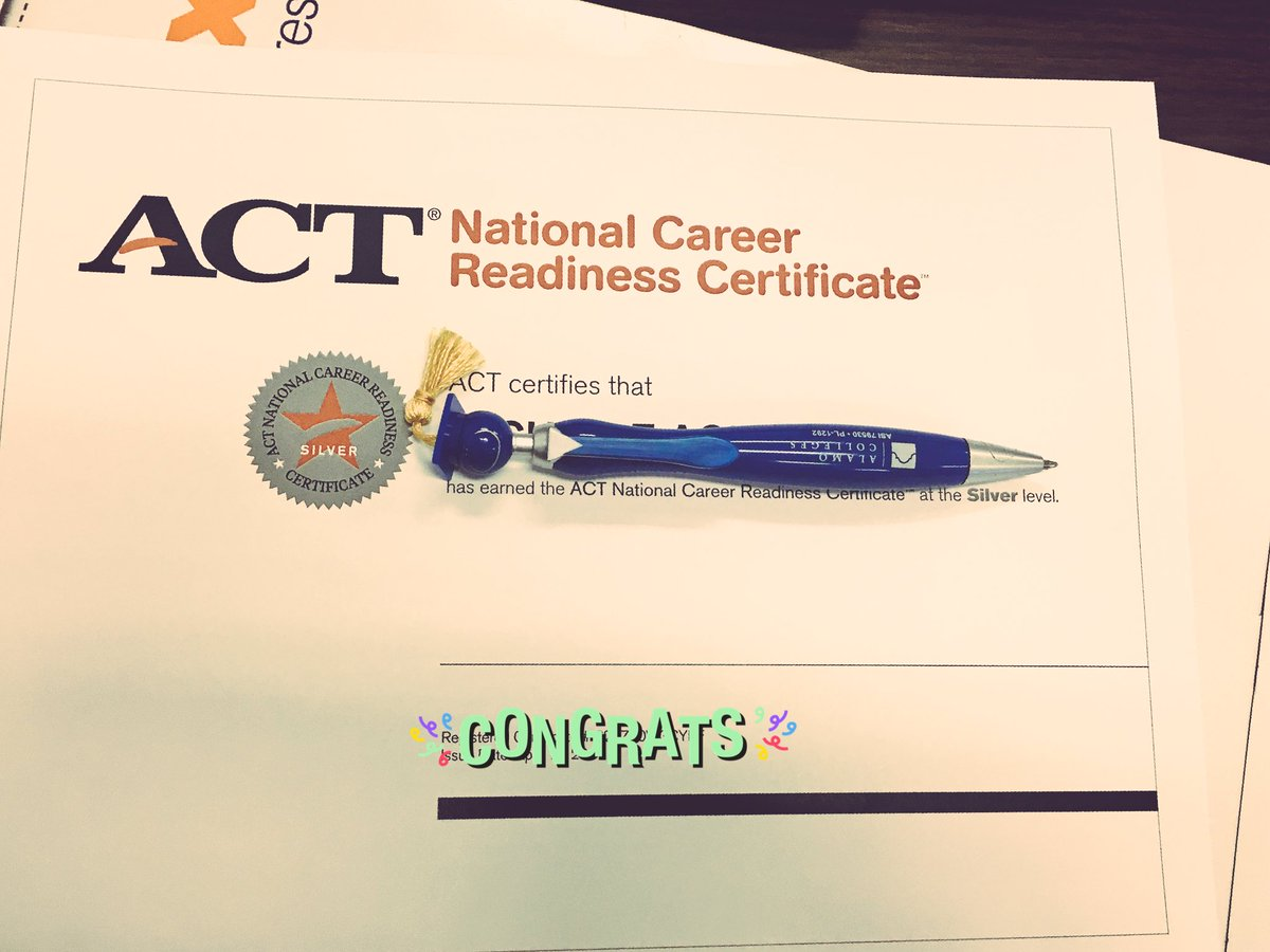 Shay wallace shaydog65 twitter certificates have arrived 41 seniors are graduating w national career readiness certification teresabateayers zacryan buddysmith13picitter xflitez Image collections