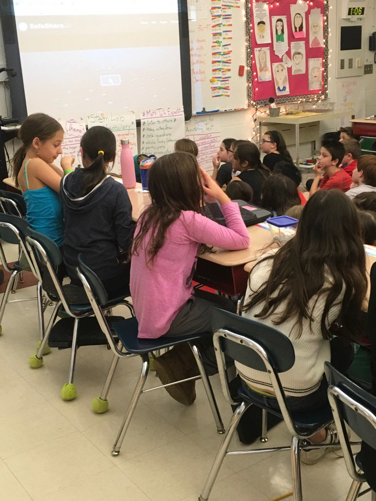 4th graders are discussing  ways to help the Earth. @jody_block @Heather_willi4  #greenupdeerfield #sp109 #engage109 https://t.co/Uma39RlBdg