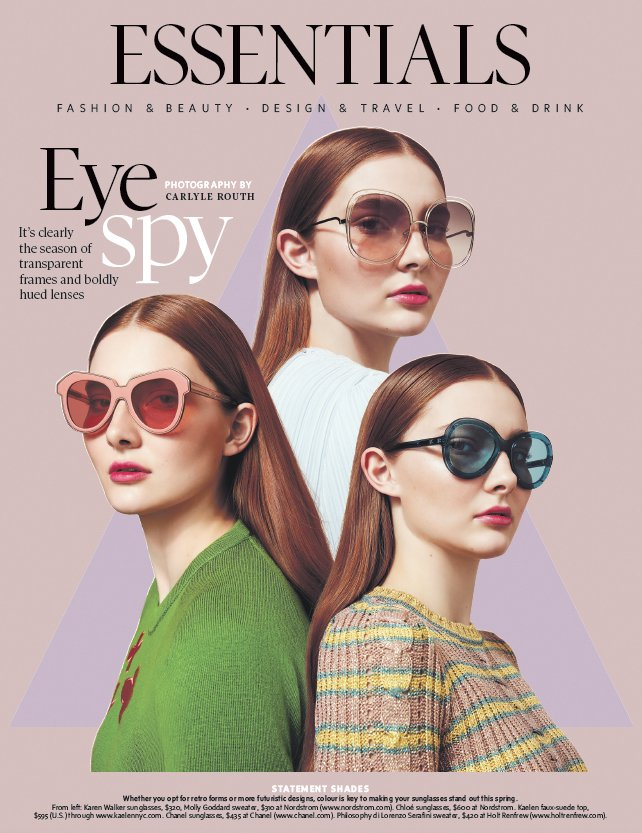 Plutino Group On Twitter Eye Spy New Editorial For Globestyle