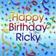 hey happy birthday Ricky..stay blessed always..love u ....keep smiling always