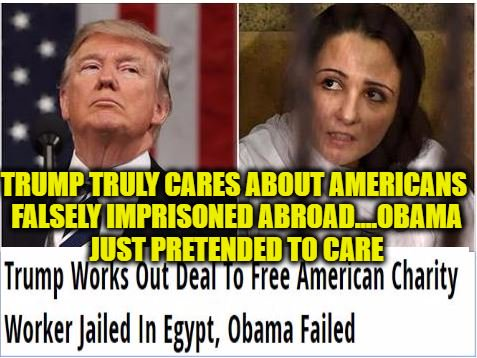 Trump Works Out Deal To Free American Jailed In Egypt, Obama Failed    http://www. youngcons.com/trump-works-ou t-deal-to-free-american-charity-worker-jailed-in-egypt-obama-failed/ &nbsp; …    #HumanRights #MAGA #FlashbackFriday <br>http://pic.twitter.com/Cy910BD0V4