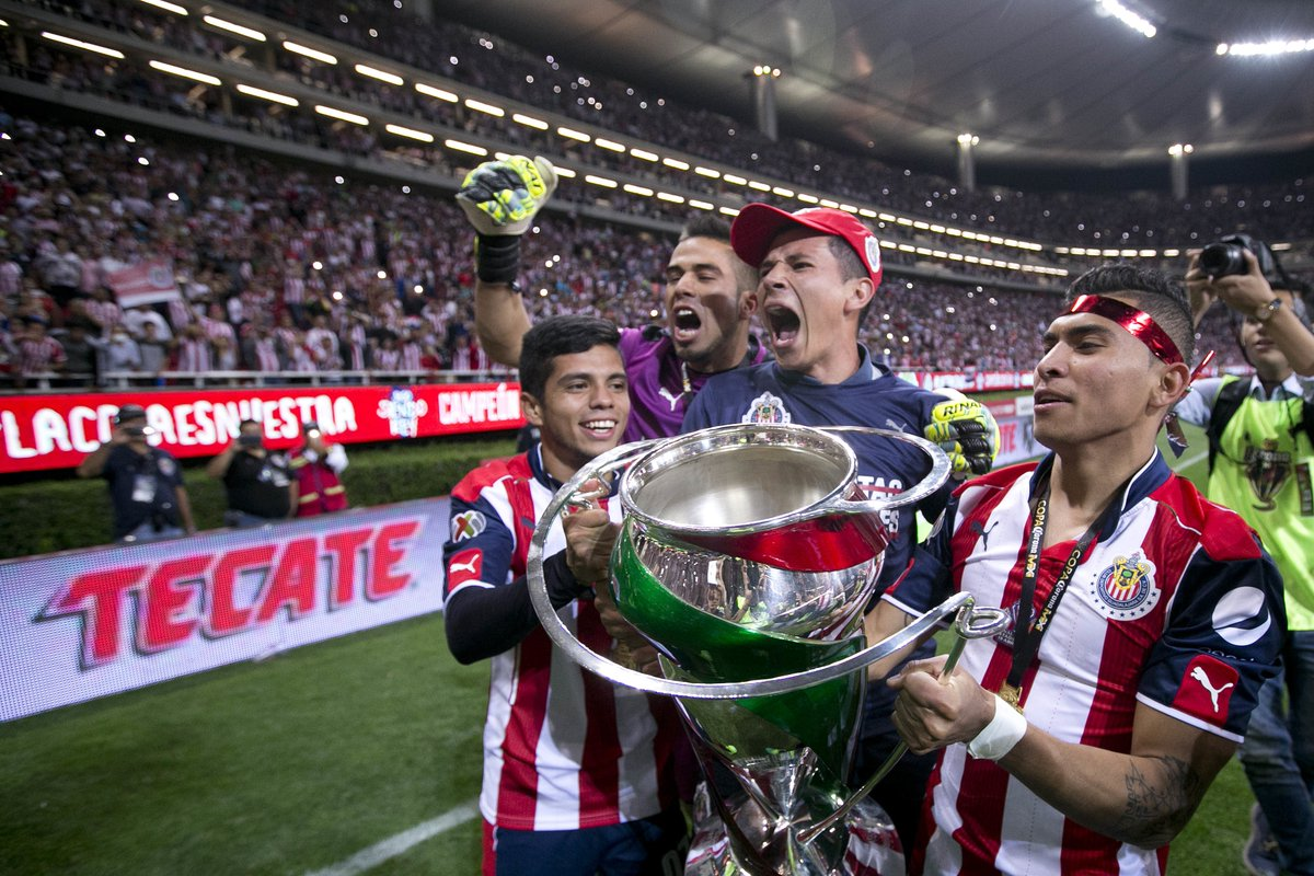 .@Chivas has that #FridayFeeling! They're heading into the weekend as #CopaMX champions!