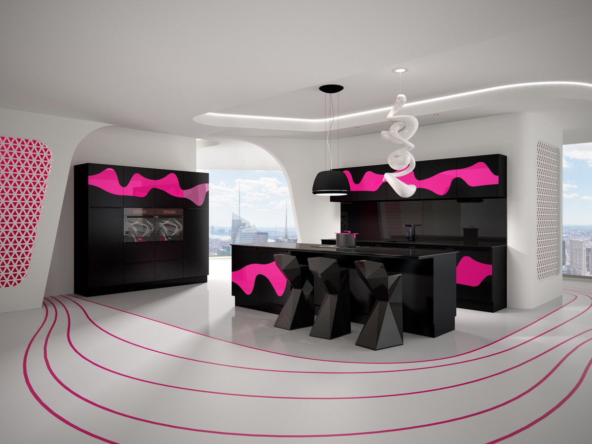 New collection of kitchens by Karim Rashid for @MF_Marya just launched last night in Moscow https://t.co/Lfv19MP93X
