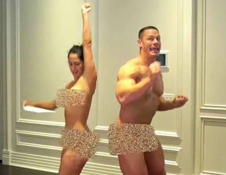 john cena naked with girls