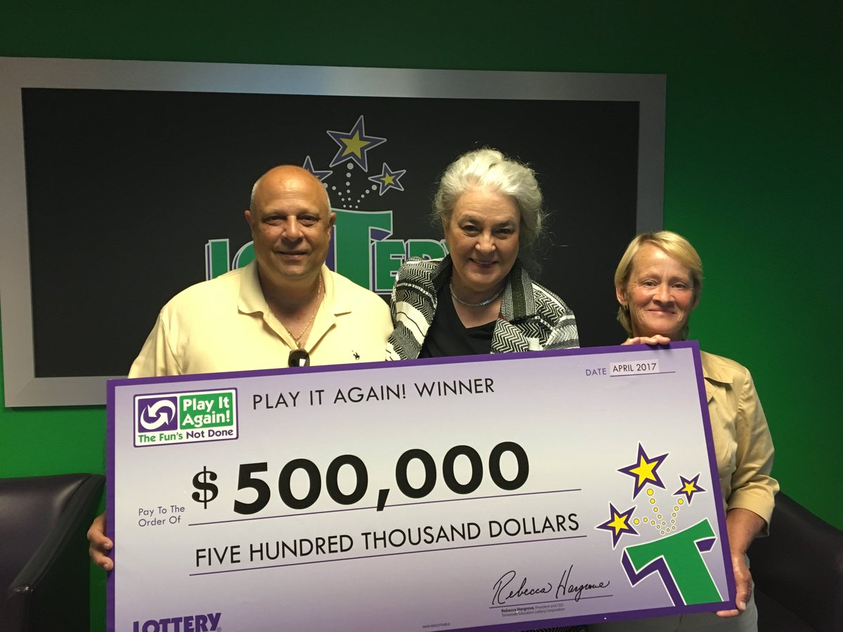 "Tennessee Lottery ar Twitter: ""What a week! 16 Play It Again"