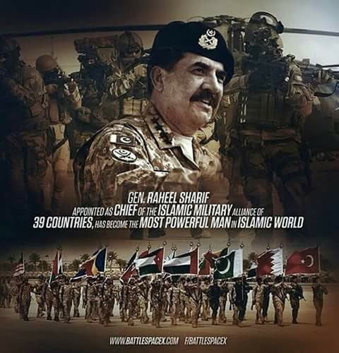 #Proud Moment For #Pakistan former army #chief #Gen #Raheel #Sharif left for #Riyadh today to head a 41-nation #Islamic military alliance<br>http://pic.twitter.com/pKEi3eBoEE