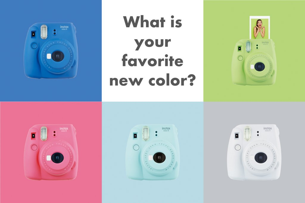 Fujifilm instax on twitter what is your favorite new for Housse instax mini 9