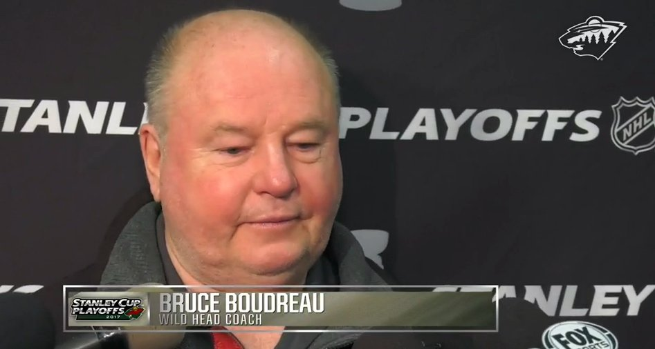 🎥 Boudreau, Koivu, Parise and Haula talk Game 5 prep and taking one shift a time → ow.ly/cKuz30b4cp0 #MINvsSTL