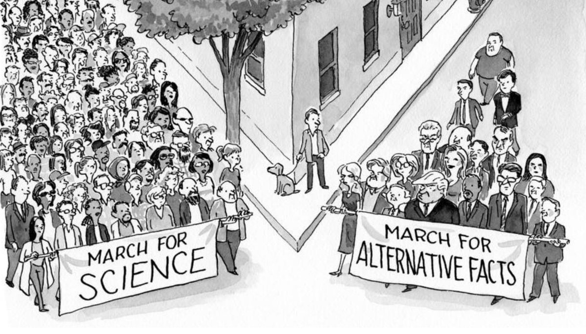 The New Yorker. #MarchForScience