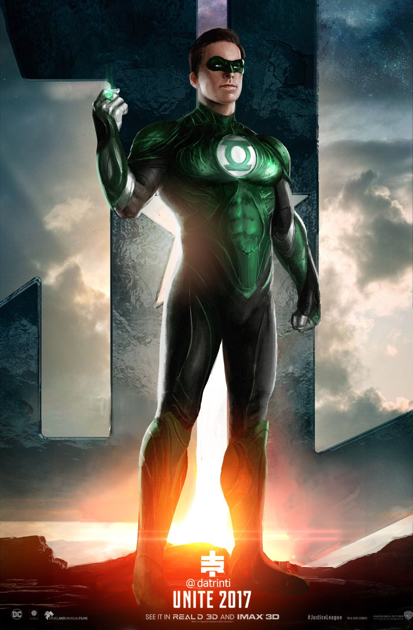 Dc Comics Fans : Tiago ribeiro on twitter quot armie hammer as green lantern