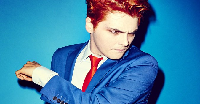 We are a tad late to the party but happy birthday to the one and only Gerard Way who turned 40 today!