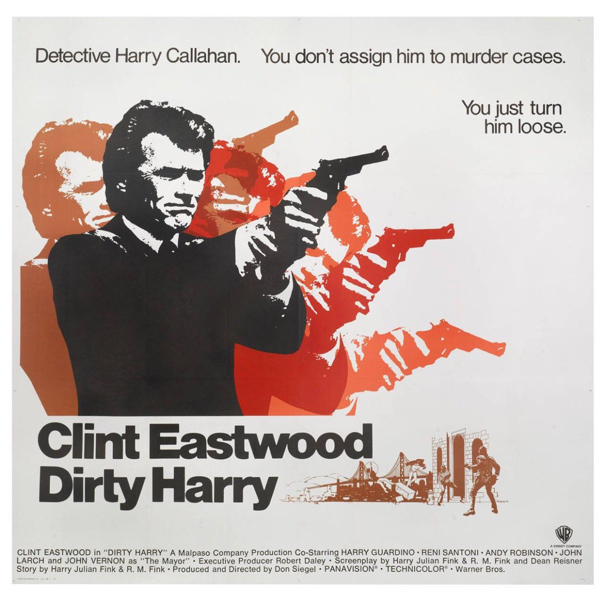 Watching Dirty Harry 1971 Cop Thriller classic #Clint Eastwood pic.twitter.com/6OQOfjZteH