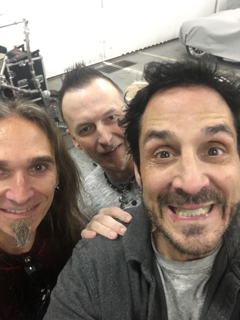 deen castronovo deenthedrummer s twitter profile twicopy dangerdonguitar and a randy laront aka the hangar