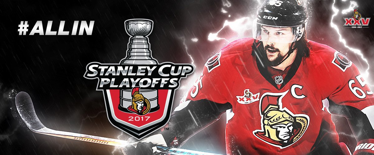Bildresultat för ottawa senators 2017 playoff