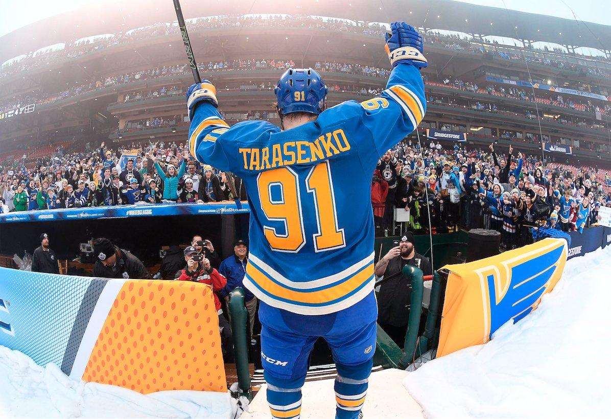 Тарасенко в ТОП-10 снайперов сезона NHL