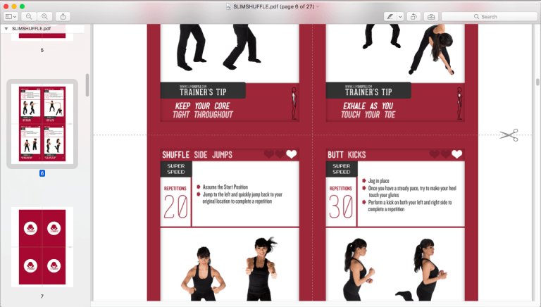 photograph about Printable Exercise Cards referred to as SlimShuffle (@SlimShuffle) Twitter