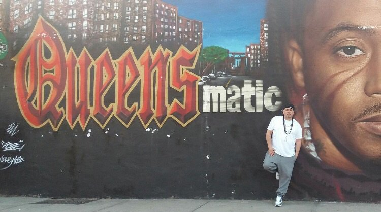 Queensmatic on for Nas mural queensbridge