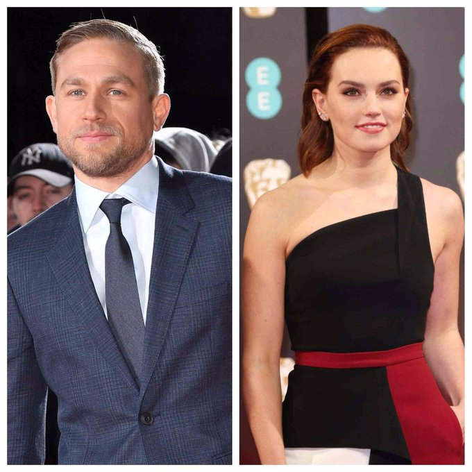 Happy birthday to the stars of \Pacific Rim\ and \Star Wars\- Charlie Hunnam and Daisy Ridley!