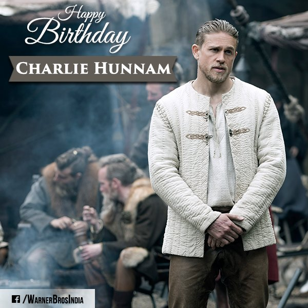 Happy Birthday, Charlie Hunnam! Who Is Looking Forward To His Upcoming Movie Legend Of The Sword?