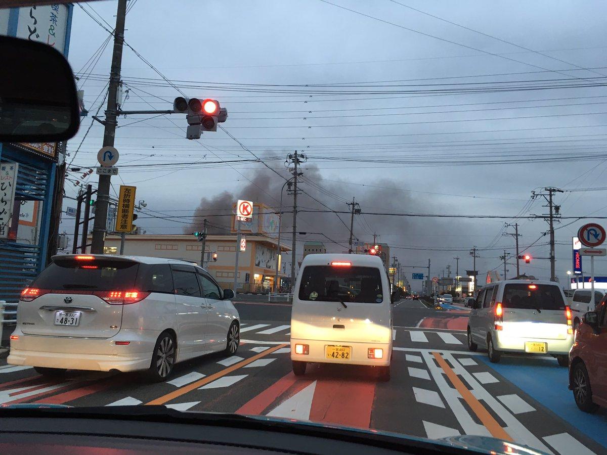 tweet : 【火災現地画像】愛知県...