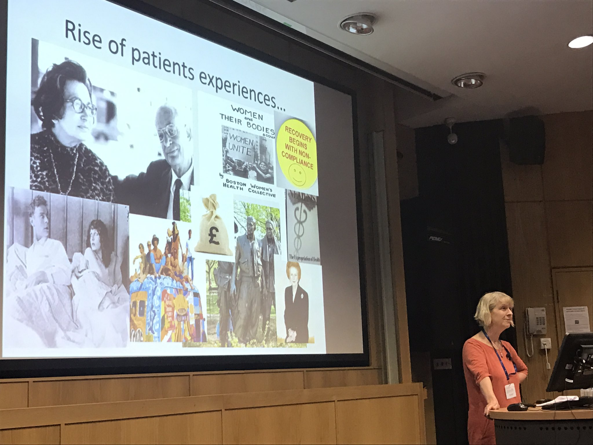 @sueziebland talks about the rise of patient's experiences #hsrpp2017 https://t.co/KxU1Ms6bHc