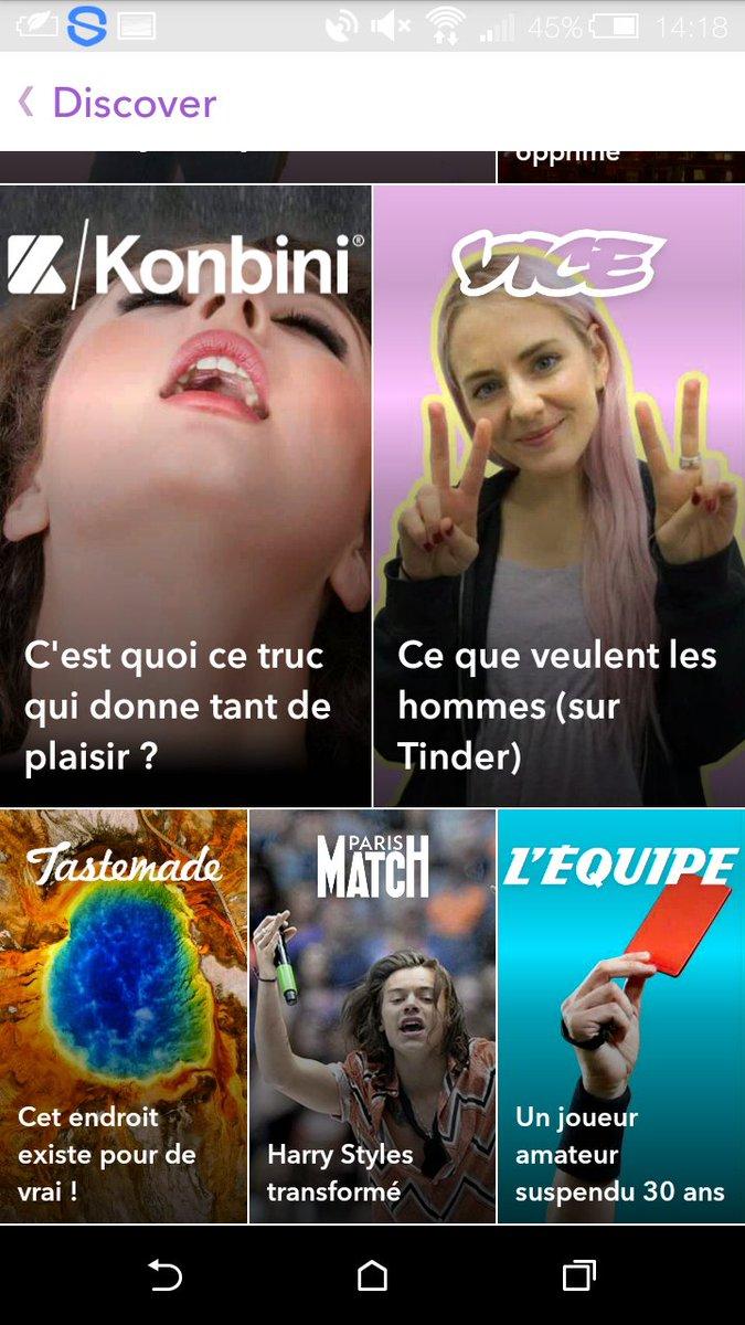 Harry dans discovery sur snap  Paris match #HarryStyles  #snapchat #ParisMatch <br>http://pic.twitter.com/Vhl3flLyJ5