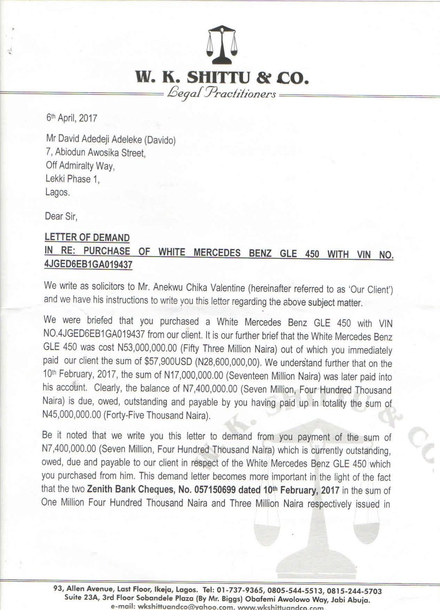 Sahara Reporters On Twitter Flash Doc Lawyer To Car Dealer From