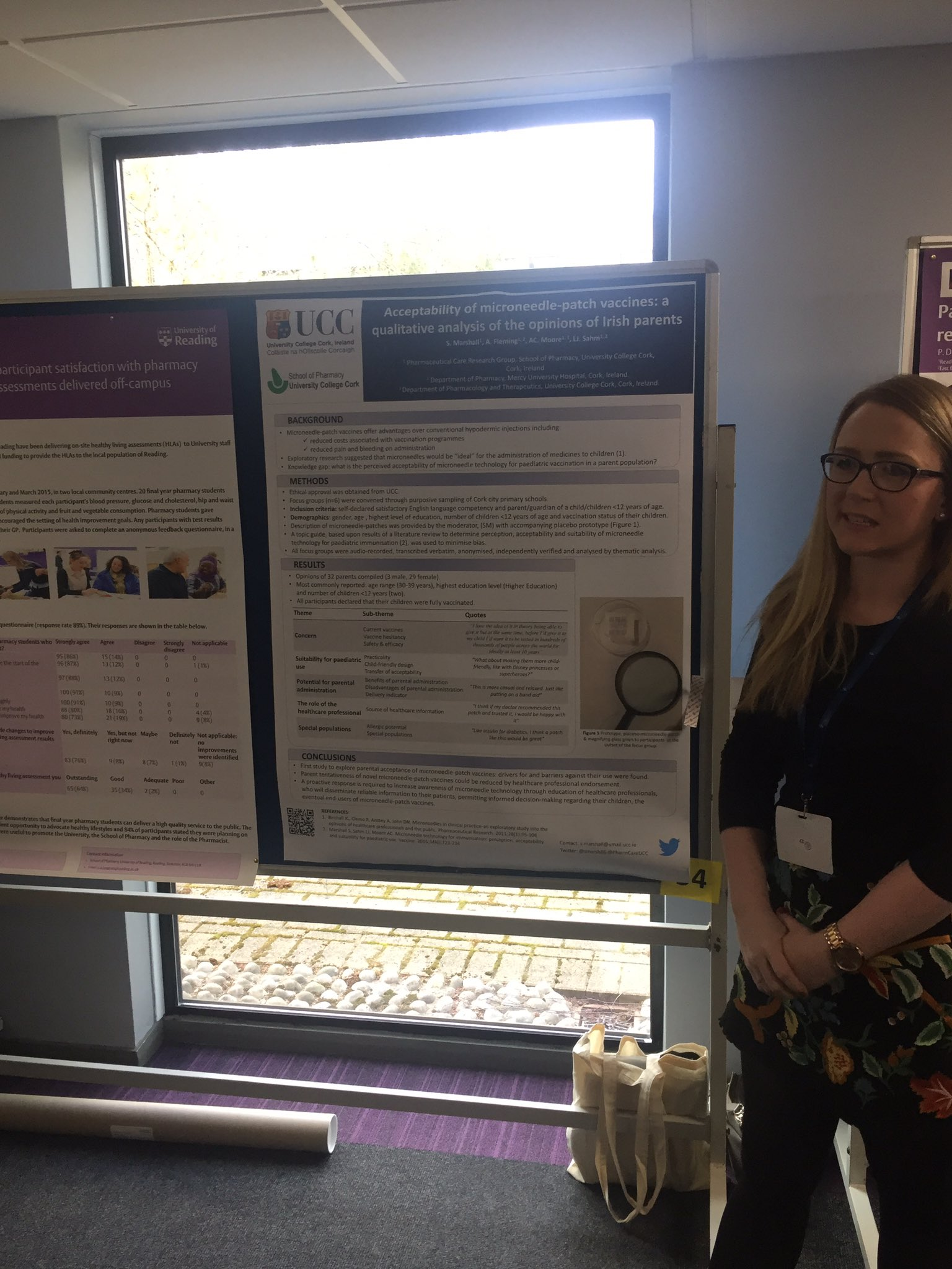 Great poster talk by Sarah Marshall.@PharmCareUCC  at #hsrpp2017   Well done Sarah https://t.co/TD1wARRDXw
