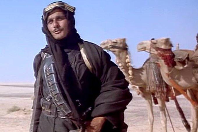 Happy birthday to the late Omar Sharif!