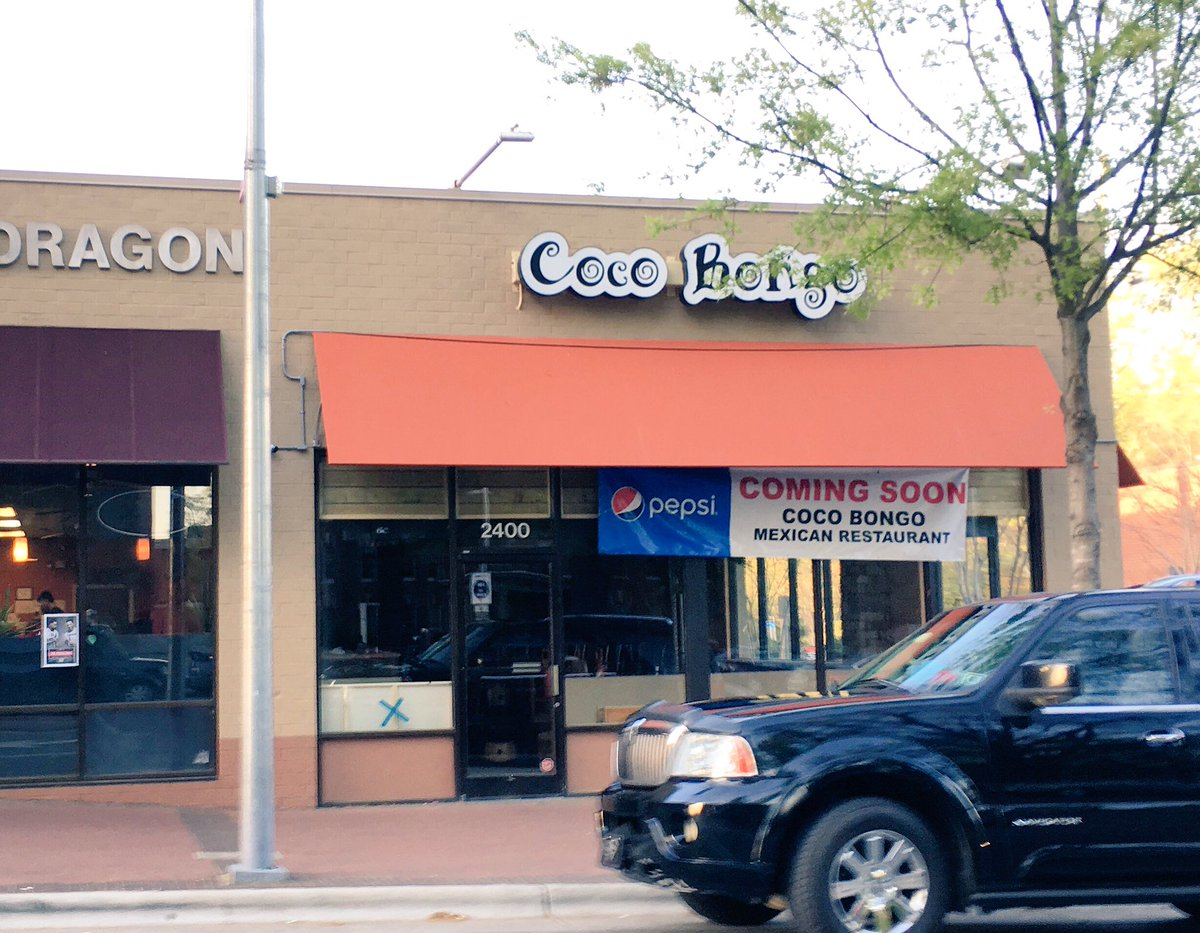 New Raleigh On Twitter Hillsborough St Is Getting A Mexican Restaurant Coco Bongo In The Same Location That All Restaurants Have Been